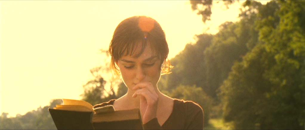 Keira Knightley in Jane Austen, Pride and Prejudice