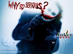 Why so serious? wallpaper - Clique para fazer o download