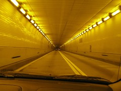 Just entered the Baltimore Harbour Tunnel
