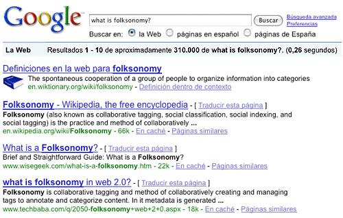 Google::folksonomy