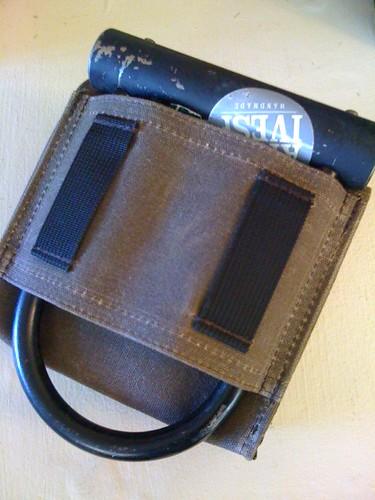 Hip Bag U-lock Holder by Archive Victor