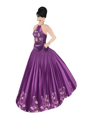 Me in Nicky Ree June ballgown
