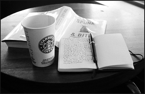 Readin' Writin' Sippin' (by StarbuckGuy)