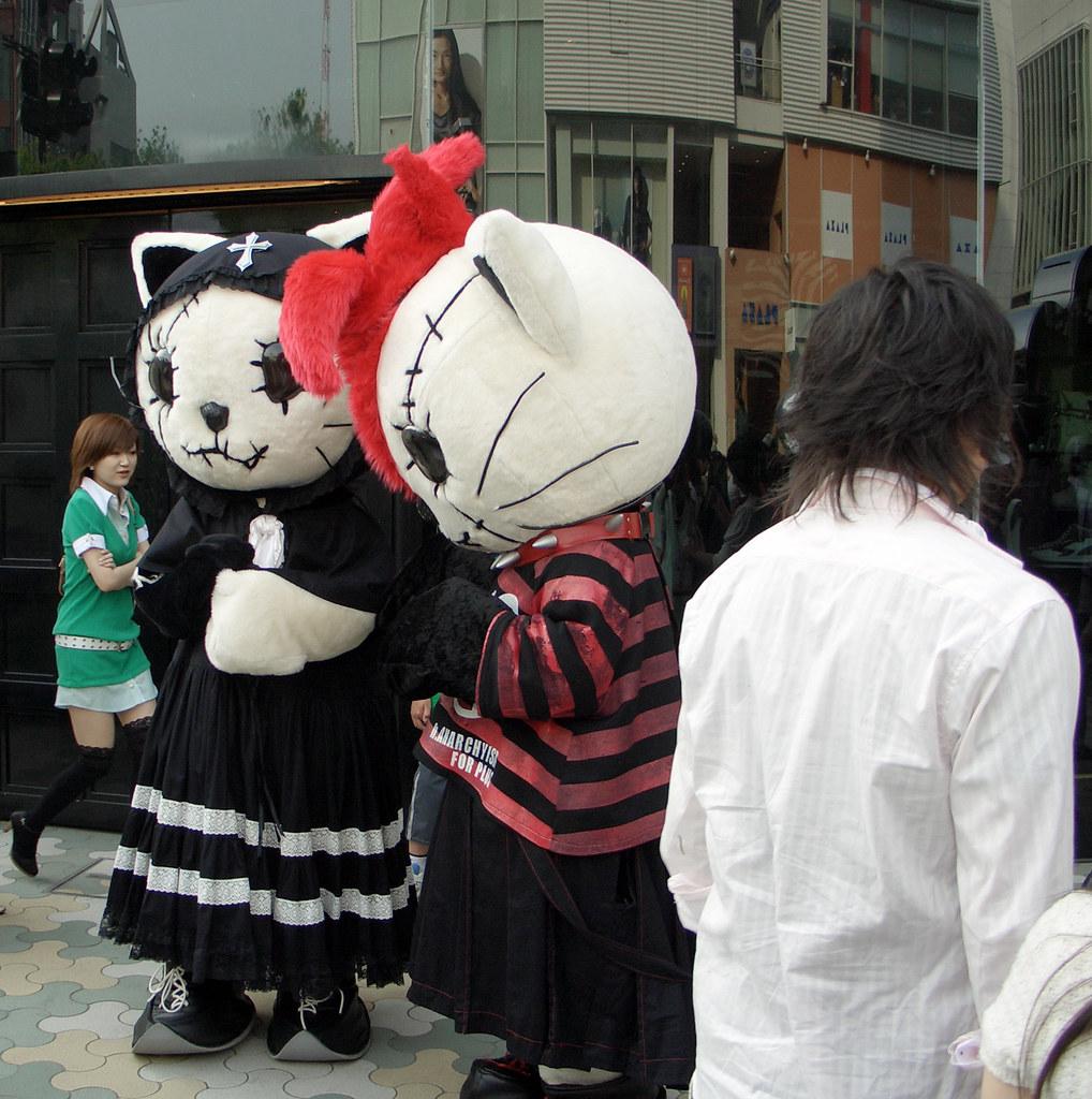 japan tokyo harajuku anarchyism for plus