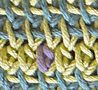 Birdtail stitch