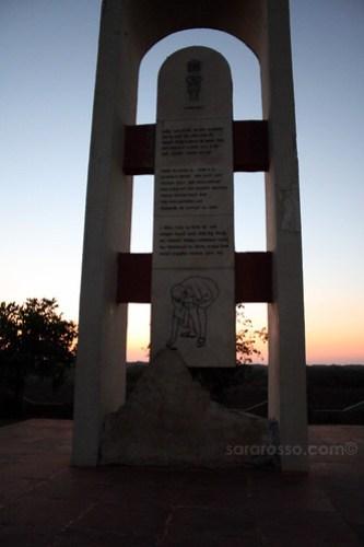 Gandhi Monument - Salt Satyagraha, Dandi Beach, Gujarat India