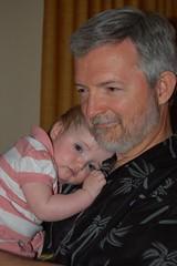 30 Tiny Moments 9/30: Papa D and Selah