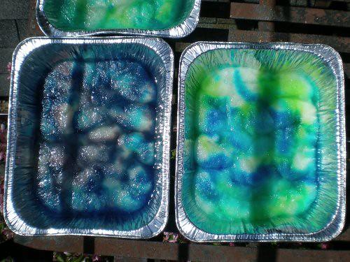 dye baths