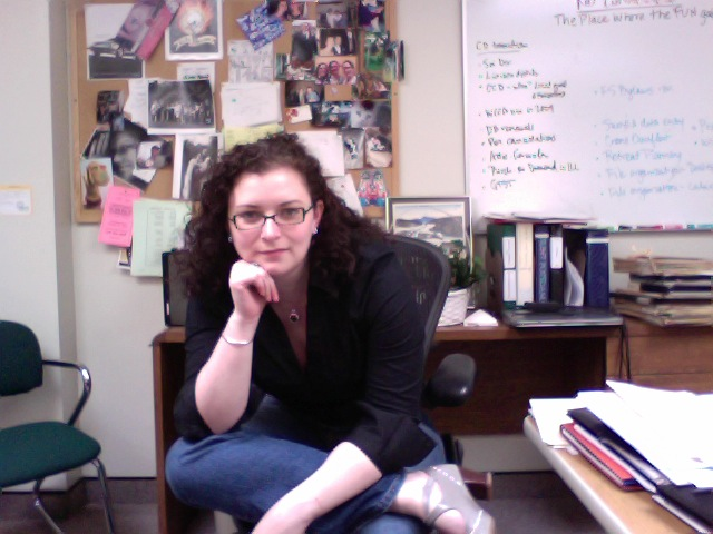 "DailyPic 5/15: My last day as ""just a librarian"""