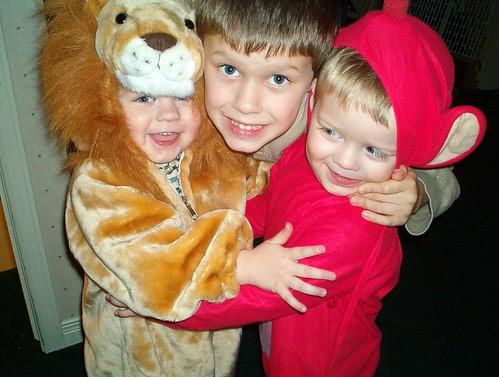 Daniel, Devin and Liam