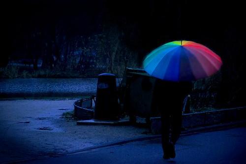 Yağmur Fotoğraflarına Örnekler 3