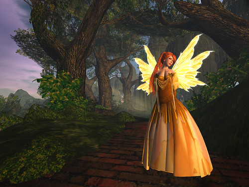 fancy fairy - olde world fairy 001