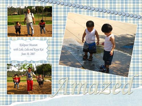 Cousins at Kidspace