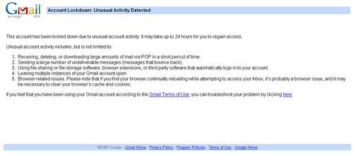 Gmail_Lockdown