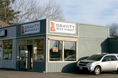 Gravity Beer Market ~ Olympia's own beer store!