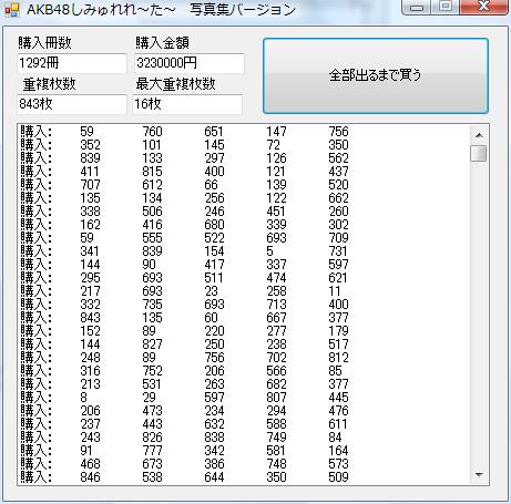 AKB48 Photobook Simulation 1