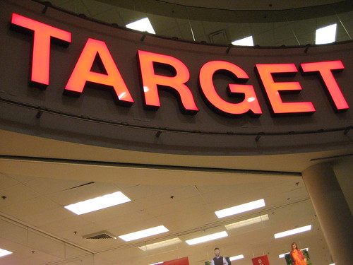 Target sign - Store #1