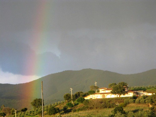 Rainbow, Tuscany