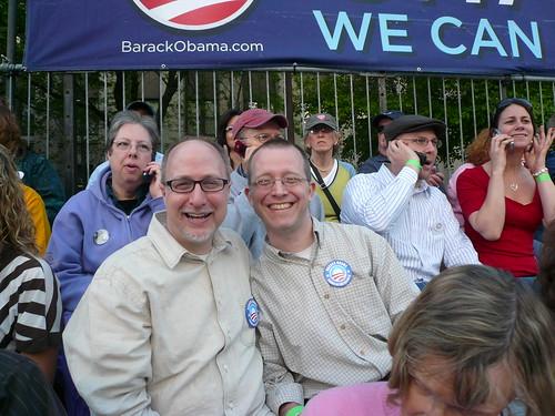 Obama Indianapolis Rally- May 6, 2008