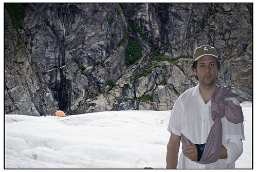 Camping on an Alaskan Glacier with walking wounded
