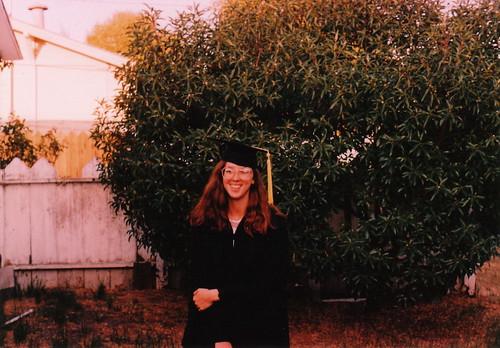 Cal Poly graduation 1986