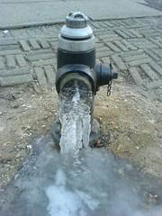 Frozen Hydrant