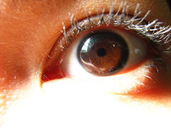 My Dark Brown Eye (Left)