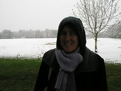 Snow on Ealing Common