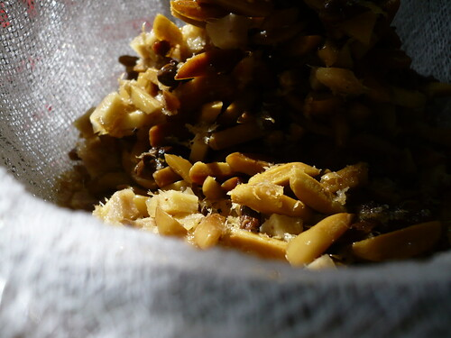Falernum #4: Cheesecloth Closeup