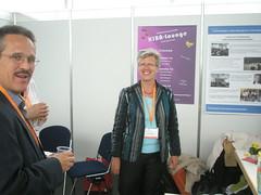 Frau Georgi, Chefin der KIBA