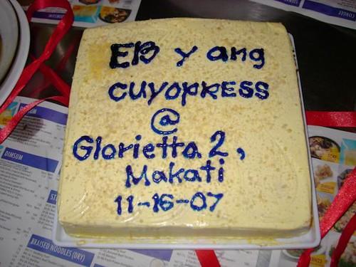 EB cake