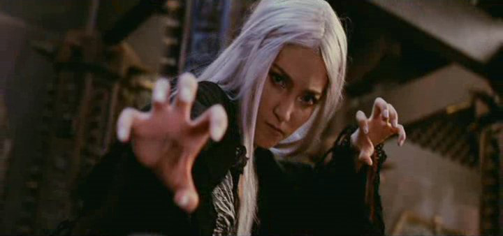 Li Bingbing as the White Haired Demoness