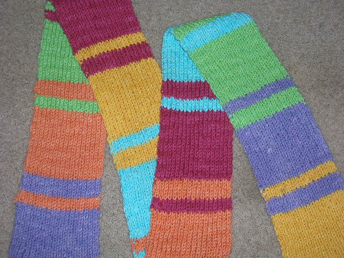01-05 Color Block Scarf