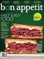 March Bon Appetit Cover