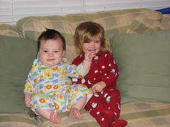 Kids in pjs