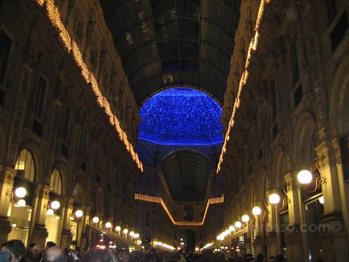 Galleria Vittorio Emmanuele, Milan, Christmas 2007