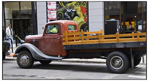 Vintage Ford Pick Up Truck