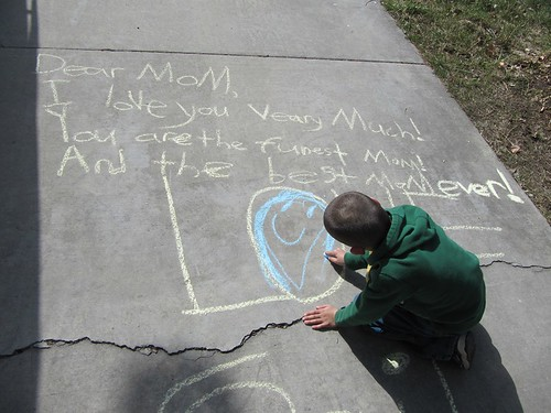 Sidewalk Chalk Sai