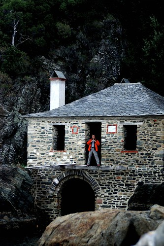 Boathouse, Mt Athos