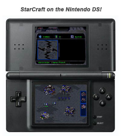 StarCraft on the DS