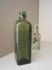 Recovered bottles