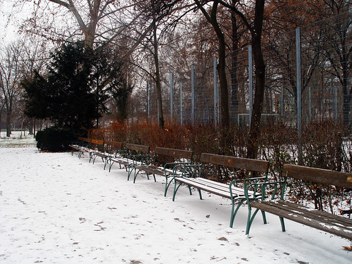 lonely benches