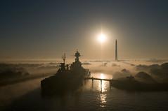 "Ship Portrait - ""USS Texas"" at San J..."