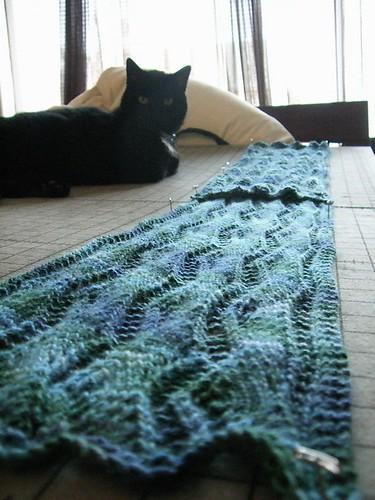 scarf blocking