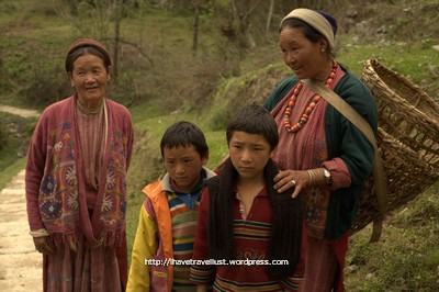Faces of Tawang Valley