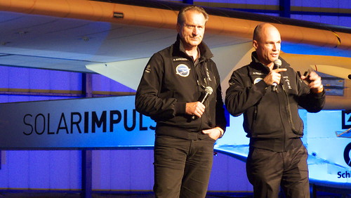 Solar Impulse : André Borschberg & Bertrand Piccard