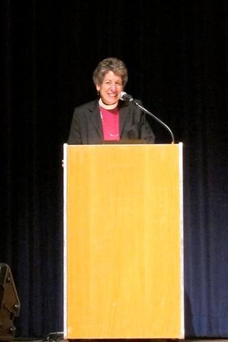 Bishop Katharine Jefferts Schori