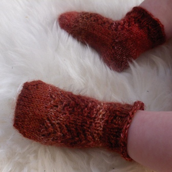 baby socks FO