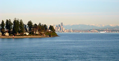 Bainbridge Island back to Seattle