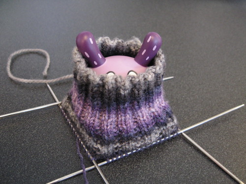 Dunny in Warlock sock by you.